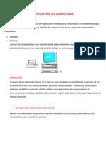 Estructura Del Ccomputador