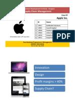 Apple SCM Group 7