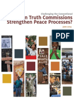 ICTJ Report KAF TruthCommPeace 2014