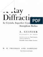 Guinier, X-Ray Diffraction in Crystals