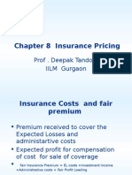 Chapter 8 Insurance Pricing