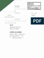 Poindexter v. Cash Money - New Complaint Dismissed Without Prejudice