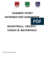 2015 summer sport information book