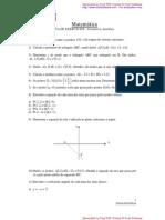 Lista de geometria analitica 1