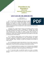 Lei 8429 - Lia