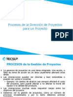 3. Procesos Gestión de Proyectos