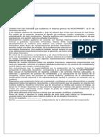 Carta Compromiso NICATRANSPT