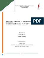 Informe Proyecto Analisis de Sonido