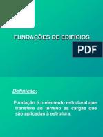 Aula 17 - Fundações