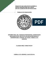 Informe Eps Psicologia