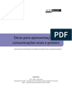 Dicas Comunicacoes Posters