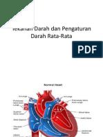 Tekanan Darah Dan Pengaturan Darah Rata-Rata