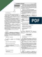 Decreto Supremo Nro. 004-07-In. Sobre Gobernadores