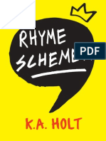 Rhyme Schemer (excerpt) by K.A. Holt