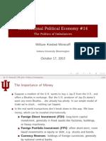 Lecture 14 Politics Imbalances