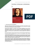 Patafísica, Virtualidad y Heterodoxia, Jarry. Por Adolfo Vásquez Rocca
