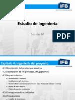 Estudio de ingeniería Sesión+10