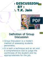Group Discussion Afterschoool