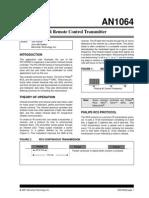 IR Remote Control Transmitter_01064A