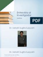 Entrevista Al Investigador