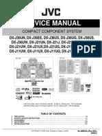 76907910 JVC DX J11 DX J21 DX J36 Manual de Servicio