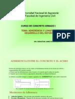 Clase Adherencia Anclaje y Recubrimiento