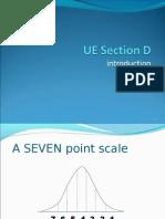 UE Section D Introduction