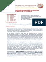 Proyecto Extensión Universitaria 2011-02