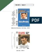 Elvis - Capas Dos CD's