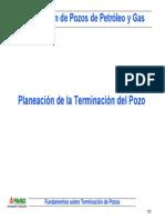 02 Planeación de La Terminación Del Pozo