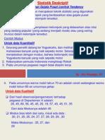 Materi 3 (Statistik Deskriptif 2)