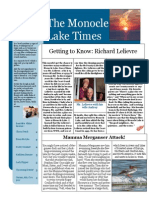 The Monocle Lake Times August 2014