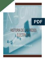 Historia de Redes Electricas