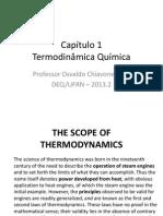 Cap 1 Termodinâmica q