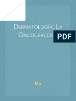 Dermatología La Oncocercosis