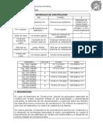 Programa Materiales de Construcción 2014