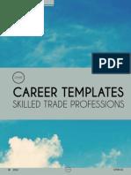 Skilled Trade Career Templates