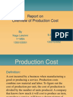 Overview of Production Cost