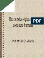 Bases de La Conducta