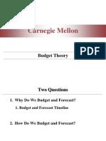 Teoria bugetului