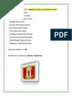 PROYECTO      Alpiste  2014        ``1 B´´