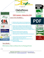 6th August,2014 Daily Global Rice E-Newsletter by Riceplus Magazine