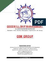 Goodwill Ship Management - Presentation