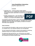 Microsoft Word - Full Application Form + Guidance Notes CDW 09