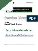 Caterpillar 3208 Diesel Engine SM Manual Copy One