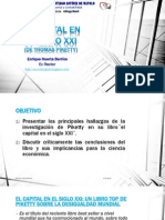 El Capital en El Siglo XXI de Thomas Piketty _Enrique Huerta Berríos