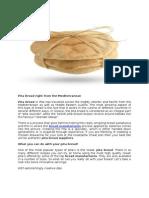 Pita Bread Right From the Mediterranean