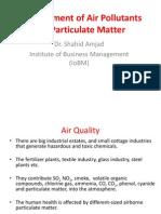 EEM 402 Summer 2014 Lect 2 Measure of Air Pollutants[Edited]