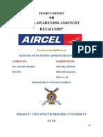 Print Aircel Data Card