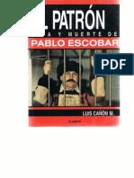LuisCanonM Vida y Muerte de PabloEscobar Planeta 1994
